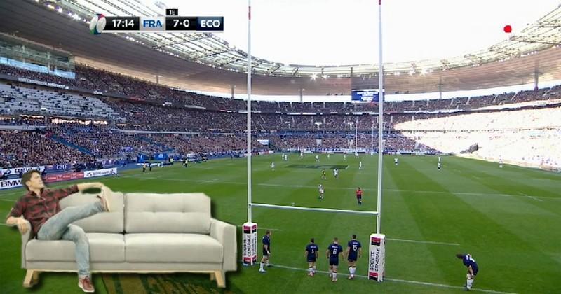 WTF - Vis ma vie de supporter dans son canapé lors de la victoire du XV de France