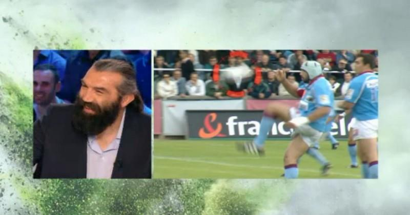 WTF - LE drop culte de Sébastien Chabal a stupéfié Dan Carter [VIDEO]