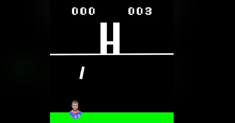 VIDEO. WTF : le FC Grenoble salue la performance XXL de Gaëtan Germain  en mode retrogaming