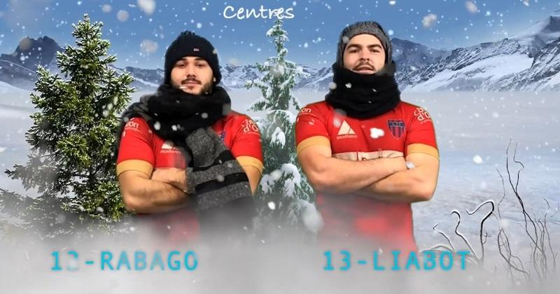 WTF : le Stade Dijonnais la joue ''Bronzés font du ski'' pour le trombinoscope du derby [Vidéo]