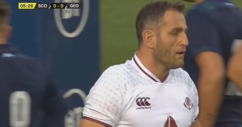 WTF : l'Ecosse a diffusé le mauvais hymne de la Géorgie avant le match face aux Lelos !