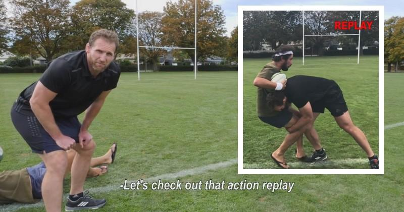 VIDEO. WTF. Les bases du rugby mises en scène par Kieran Read et How to Dad