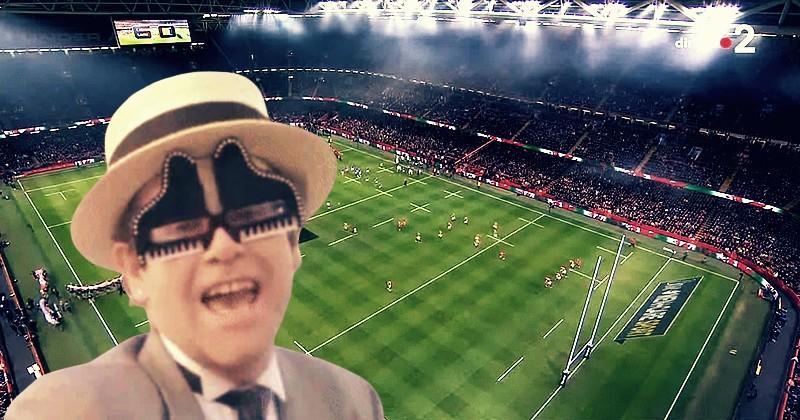 Le meilleur de Pays de Galles vs France en GIF avec Elton John, Doctor Strange et des chats