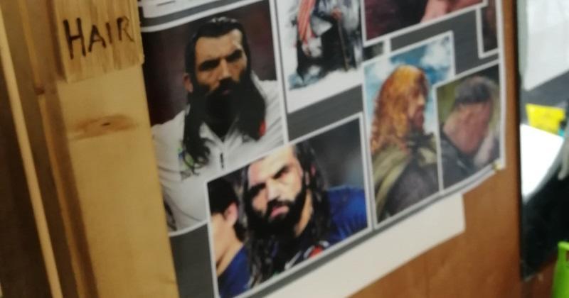 WTF : Sébastien Chabal inspire les maquilleurs... sur le tournage de la série Vikings