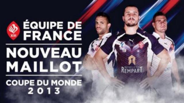 XIII de France : un nouveau maillot et la liste pour la Coupe du Monde dévoilés