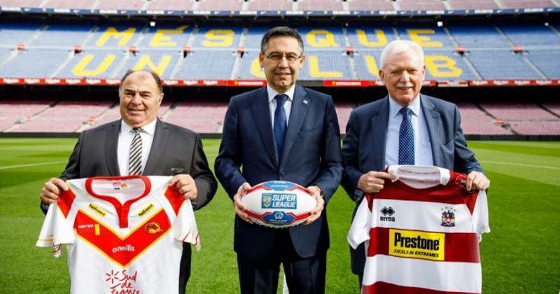 XIII : les Dragons Catalans au Camp Nou face à Wigan
