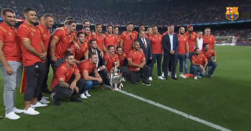 XIII : les Dragons Catalans joueront au Camp Nou en juin 2019