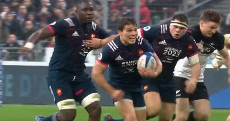 VIDÉO. XV de France : les highlights du phénomène Antoine Dupont face aux All Blacks