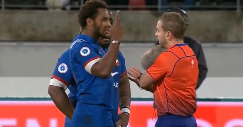 XV de France : Benjamin Fall blanchi par World Rugby après son carton rouge face aux All Blacks