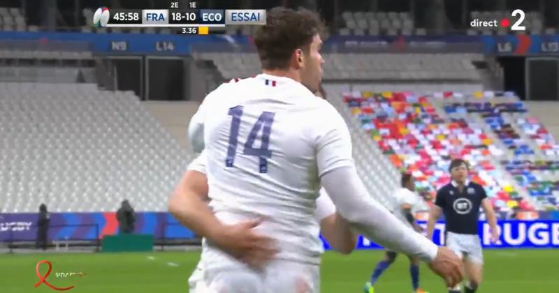 VIDEO. Pas de victoire, pas de titre : les essais du succès de l'Ecosse sur le XV de France !