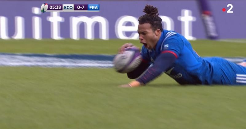 VIDEO. 6 Nations - XV de France. Deux exploits de Teddy Thomas et puis plus rien