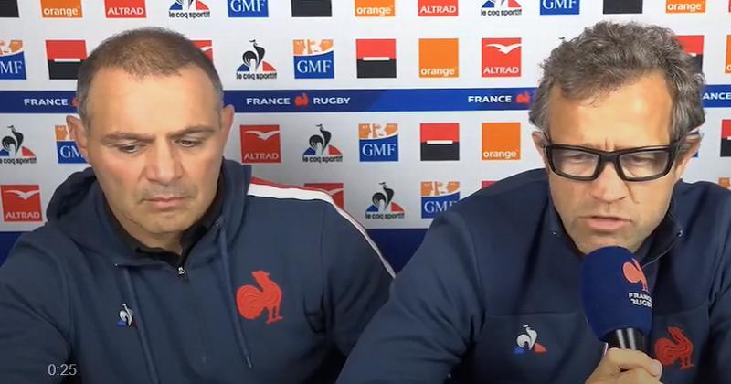 XV de France. Fabien Galthié : ''ils s'imaginent qu'on va les regarder jouer''