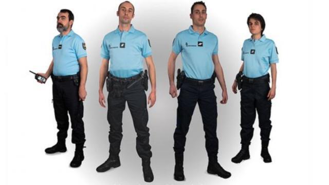 PHOTO. La gendarmerie nationale rebondit sur la polémique du maillot de l'équipe de France