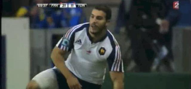 VIDEO. XV de France : La performance de Sofiane Guitoune contre les Tonga