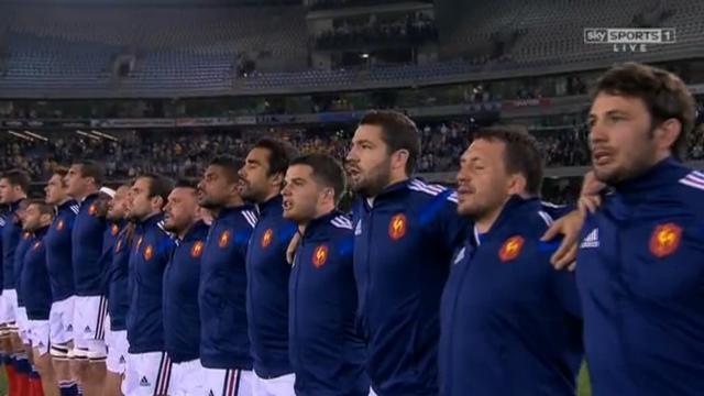 XV de France - Le groupe des 36 des internautes du Rugbynistère pour la Coupe du monde