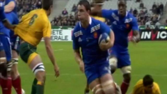 VIDEO. La dernière victoire et défaite du XV de France face à l'Australie