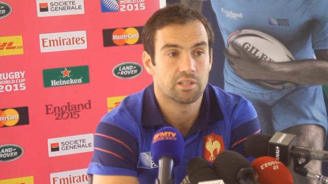 VIDEO. Coupe du monde - XV de France : pour Morgan Parra, l'équipe est figée