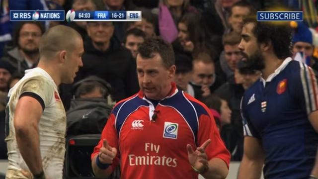 XV de France - Nigel Owens au sifflet face aux Wallabies