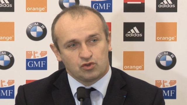 VIDEO. XV de France. Philippe Saint-André débriefe la tournée d'automne : une charnière s'installe