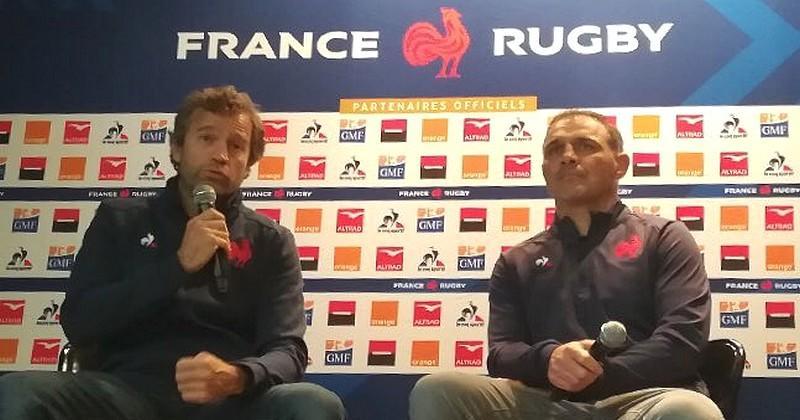 XV de France - Présentation du staff et première piste dévoilée par Fabien Galthié