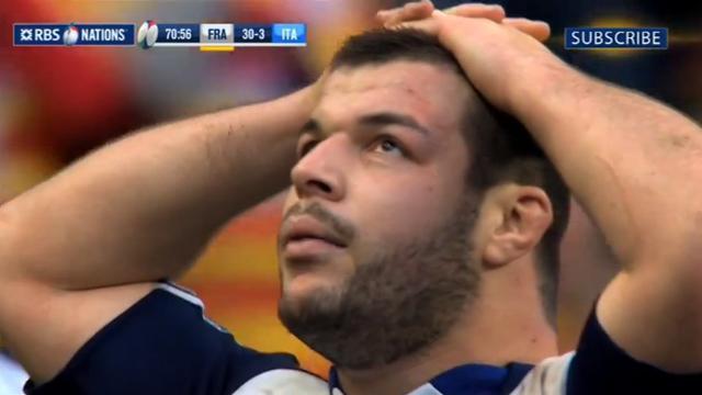 XV de France : Rabah Slimani suspendu deux semaines manquera le Pays de Galles