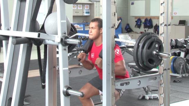 VIDEO. Coupe du monde 2015 : muscu, chambrage, ronflement et Bubble Foot pour le XV de France