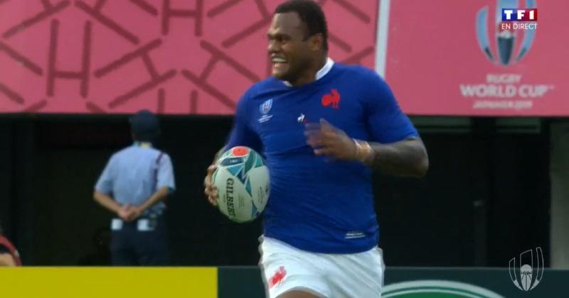 XV de France - Tonga : Alivereti Raka régale avant d'envoyer Virimi Vakatawa à l'essai ! [VIDEO]