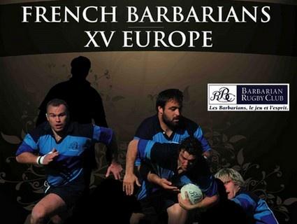 XV de l'Europe vs Barbarians Français
