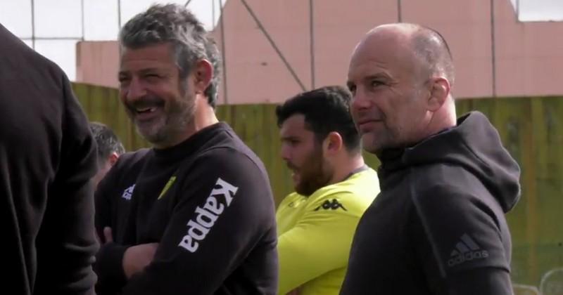 VIDEO. Pro D2. Yannick Bru à Carcassonne pour conseiller la mêlée