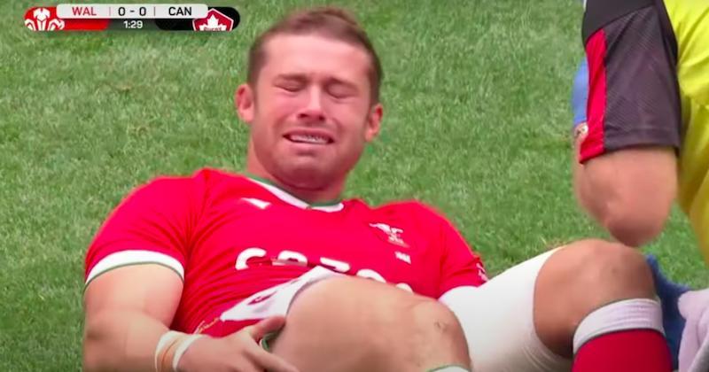 RUGBY - L'immense émotion de Leigh Halfpenny après sa nouvelle grave blessure au genou