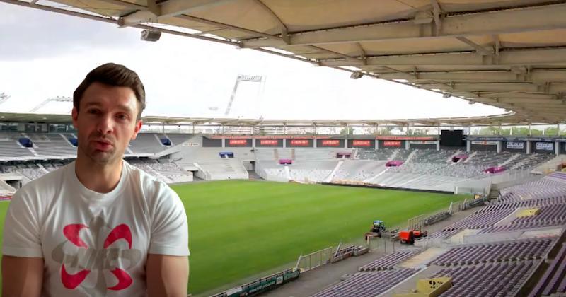 France 2023. EXCLU. Vincent Clerc : ''Le Stadium de Toulouse ? Un stade lié aux grands évènements''