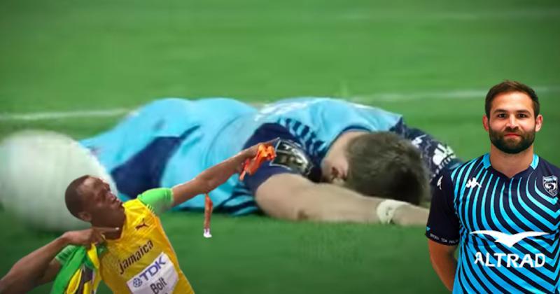 Top 14. Reinach se la joue Usain Bolt et Montpellier retrouve la victoire contre Paris [VIDEO]