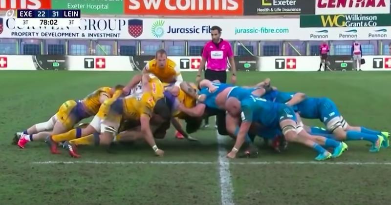 Champions Cup. VIDEO. Grâce à un pack XXL, le Leinster remporte le duel des mastodontes à Exeter