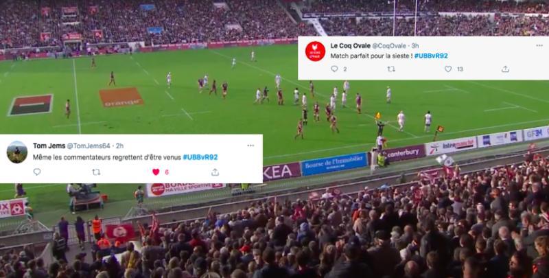 """Champions Cup.''Une purge"""", ''pitié pas de prolongations'' : les Twittos fusillent UBB - Racing"""