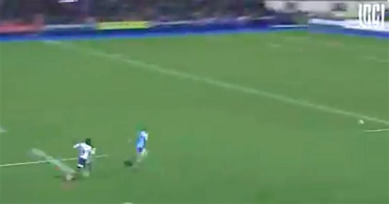 VIDEO. Madosh Tambwe place une accélération foudroyante et passe près d'envoyer Rhys Priestland à la retraite