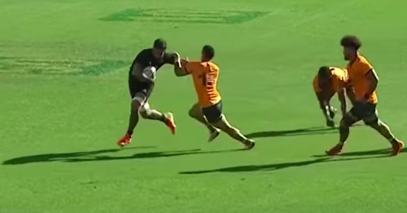 VIDEO. ALL BLACKS. Vous voulez voir ce qu'est un 3ème ligne dominant ? Regardez Akira Ioane !