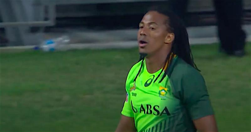 SUPERSEVENS - La légende du 7 Cecil Afrika avec Monaco pour l'étape toulousaine !