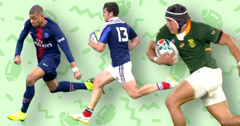 RUGBY. WTF.  Quels rugbymen pourraient battre Kylian Mbappé à la course ?