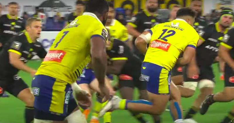 VIDEO. TOP 14. L'énorme match du jeune centre clermontois Tani Vili face à La Rochelle