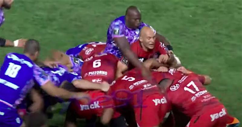 VIDEO - Revivez le magnifique duel de numéros 8 entre Sergio Parisse et Sekou Macalou