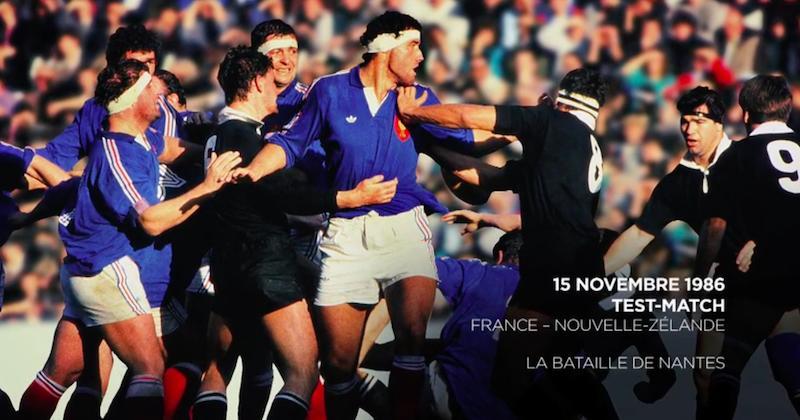 RUGBY. France - Nouvelle Zélande 86 : La Bataille de Nantes, le jour où la violence à atteint son sommet