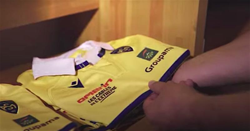 TOP 14 . VIDEO. ''Guidés par l'ancien'', voici les nouveaux maillots de l'ASM !