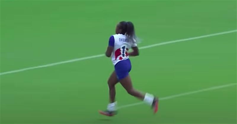 VIDEO - Revivez la qualification des françaises en demie des JO au rythme des foulées de Séraphine Okemba