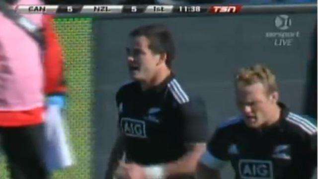 RESUME VIDEO. Les Maori All Blacks écrasent le Canada