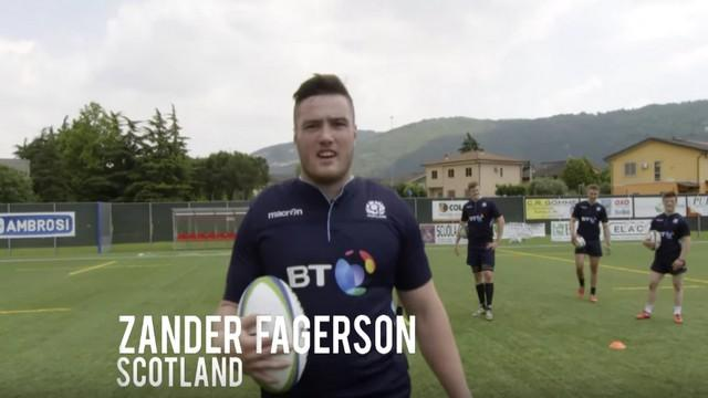 VIDEO. 6 Nations 2017 - Ecosse. Zander Fagerson, la force tranquille qui pousse à droite