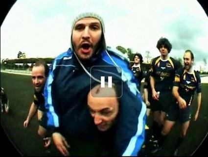 Zaz et 4P chantent le rugby amateur