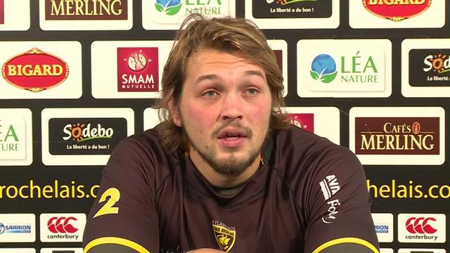 INTERVIEW. Top 14 - Du football aux Pays-Bas au rugby à La Rochelle avec Zeno Kieft‏
