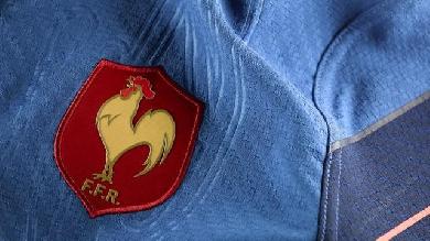 Photos adidas d voile le maillot du xv de france pour la - Classement de la coupe du monde de rugby ...