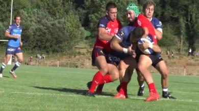 VIDEO. Match amical. Castres fait parler sa puissance face à Aurillac (31-16)