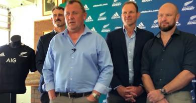 All Blacks - Ian Foster s'est entouré d'une équipe de choc pour son nouveau staff